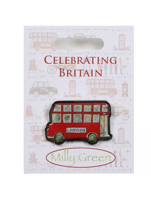 London Bus Pin Badge