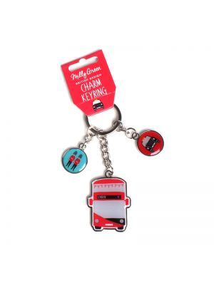 London Adventures Charm Keyring