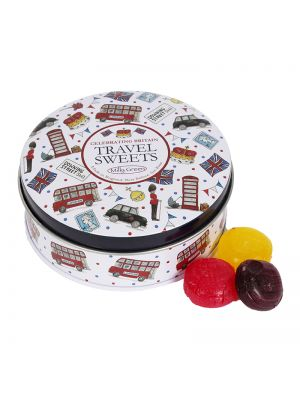 Celebrating Britain Tin of Mixed Fruit Travel Sweets