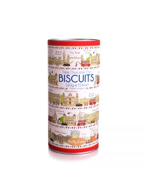 London Icons Cylinder of Biscuits