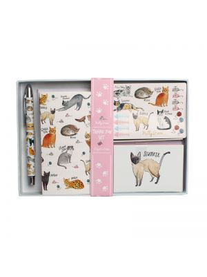 Curious Cats Thank you Writing Gift Set