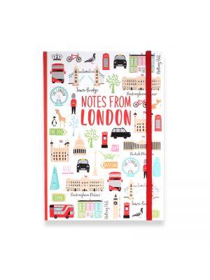 London Adventures Notebook A5 Softbound