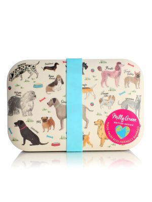 Debonair Dogs Lunch Box Eco Bamboo Fibre