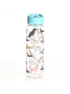 Debonair Dogs Clear Water Bottle