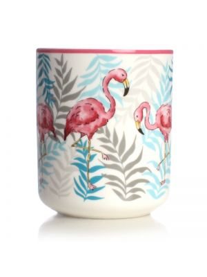 Flamingo Ceramic Pen Pot