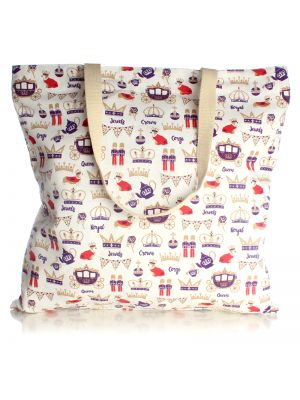 Royal Canvas Shopper