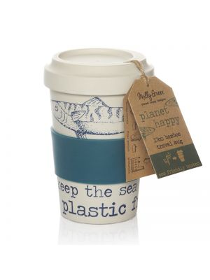 OCEAN ECO-FRIENDLY 17OZ TRAVEL MUG - BAMBOO