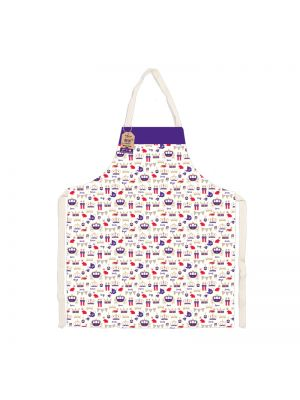 Royal Eco friendly Apron made with 100% recycled cotton