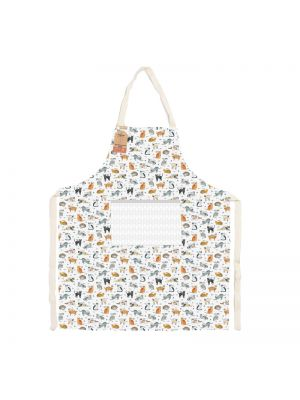 Curious Cats 100% Recycled Cotton Apron