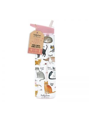 Curious Cats Eco Drinks Bottle 750ml waterbottle