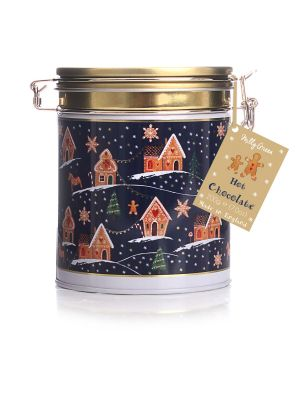 GIngerbread Wonderland Clamp Tin of Hot Chocolate