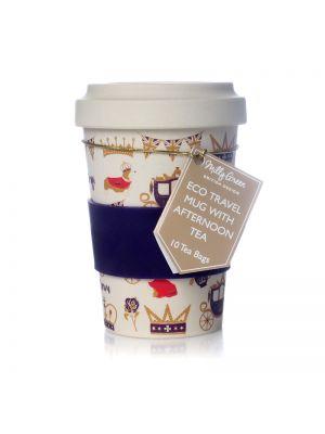 Royal Travel Mug Eco Bamboo Fibre with Tea 17oz