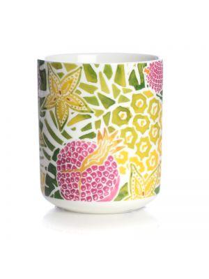 Tropical Fruit Ceramic Pen Pot