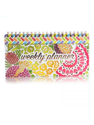 Tropical Fruit Hardback Spiral Weekly Planner