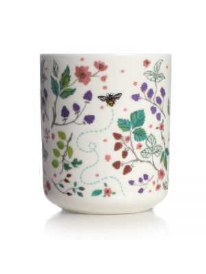 British Fruits Ceramic Pen Pot