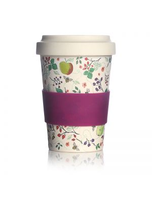 British Fruits Travel Mug Eco Bamboo Fibre 17oz