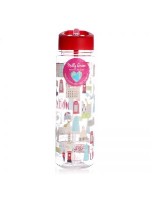 London Adventures Clear Water Bottle