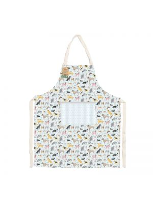 Recycled cotton apron in the Debonair Dogs range.